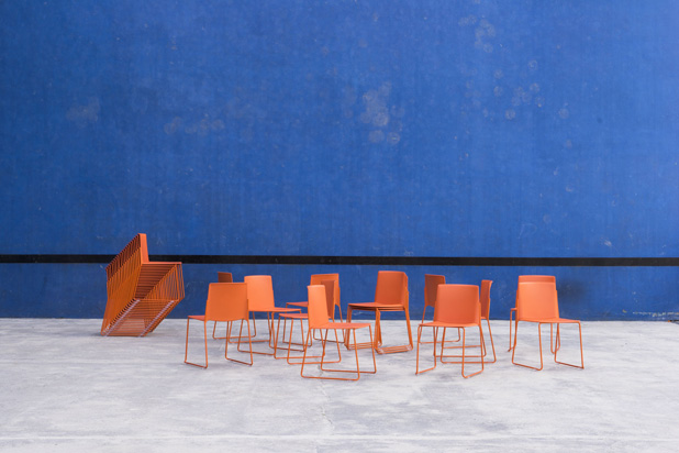 EMA chairs, designed by Lievore Altherr Molina