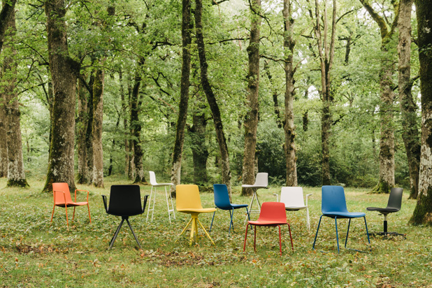 LOTTUS seating family, designed by Lievore Altherr Molina