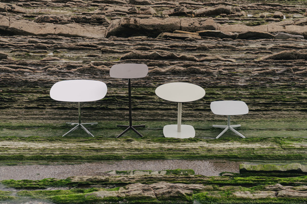 LOTTUS tables, designed by Lievore Altherr Molina