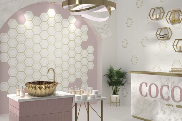 HEXALINE collection by Dune. Photo: Courtesy of DUNE.