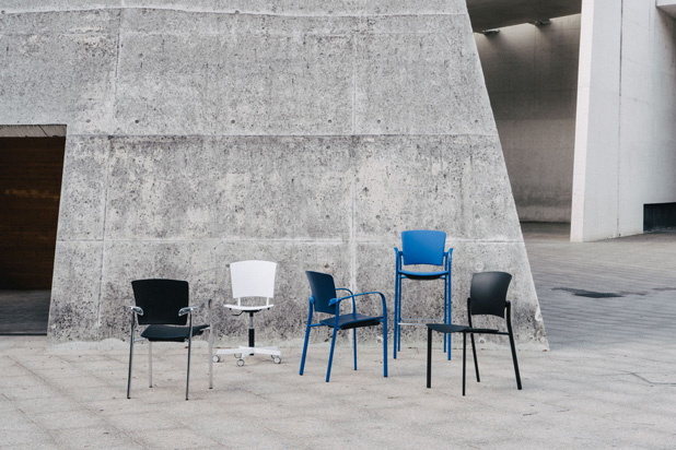 EINA seating family, designed by Josep Lluscà
