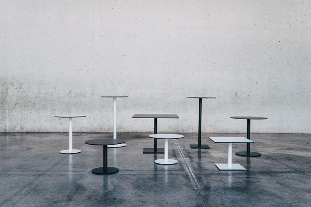 PUNTO tables, designed by Josep Lluscà