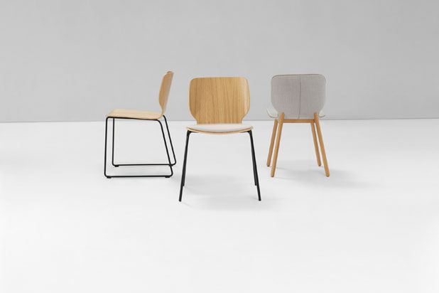 NIM chair collection, designed by Yonoh for Inclass