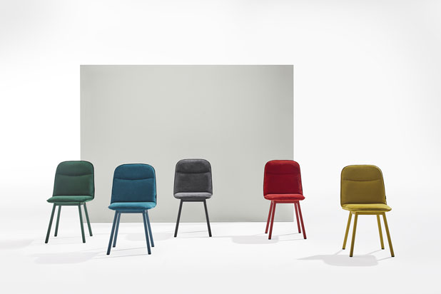 KÖLN chair collection, designed by Yonoh for Mobliberica
