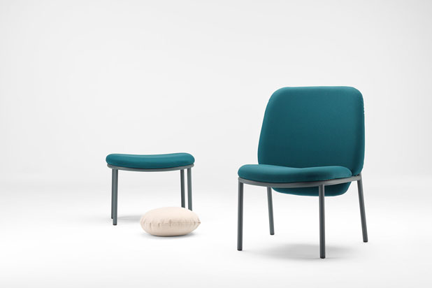 LANA seating, designed by Yonoh for Ondarreta