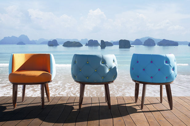 Outdoor chairs. Fortune II collection