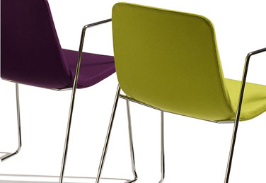 ICS chairs, designed by Fiorenzo Dorigo
