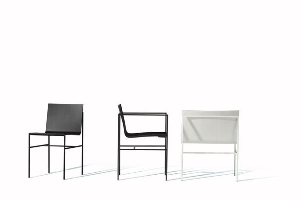 CPD seating collection, designed by Fran Silvestre Arquitectos for Capdell