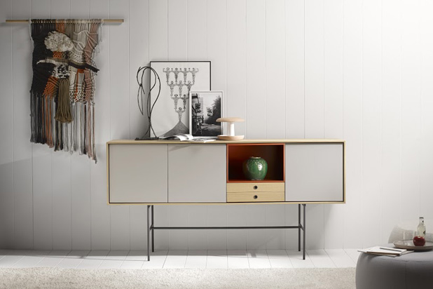 AURA sideboard, designed by Angel Martí & Enrique Delamo