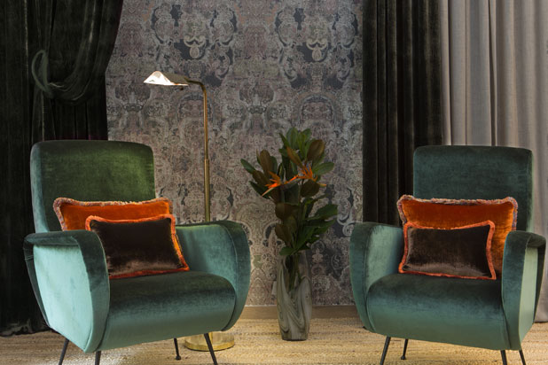 CHIFFUN VELVET fabric collection by Gancedo
