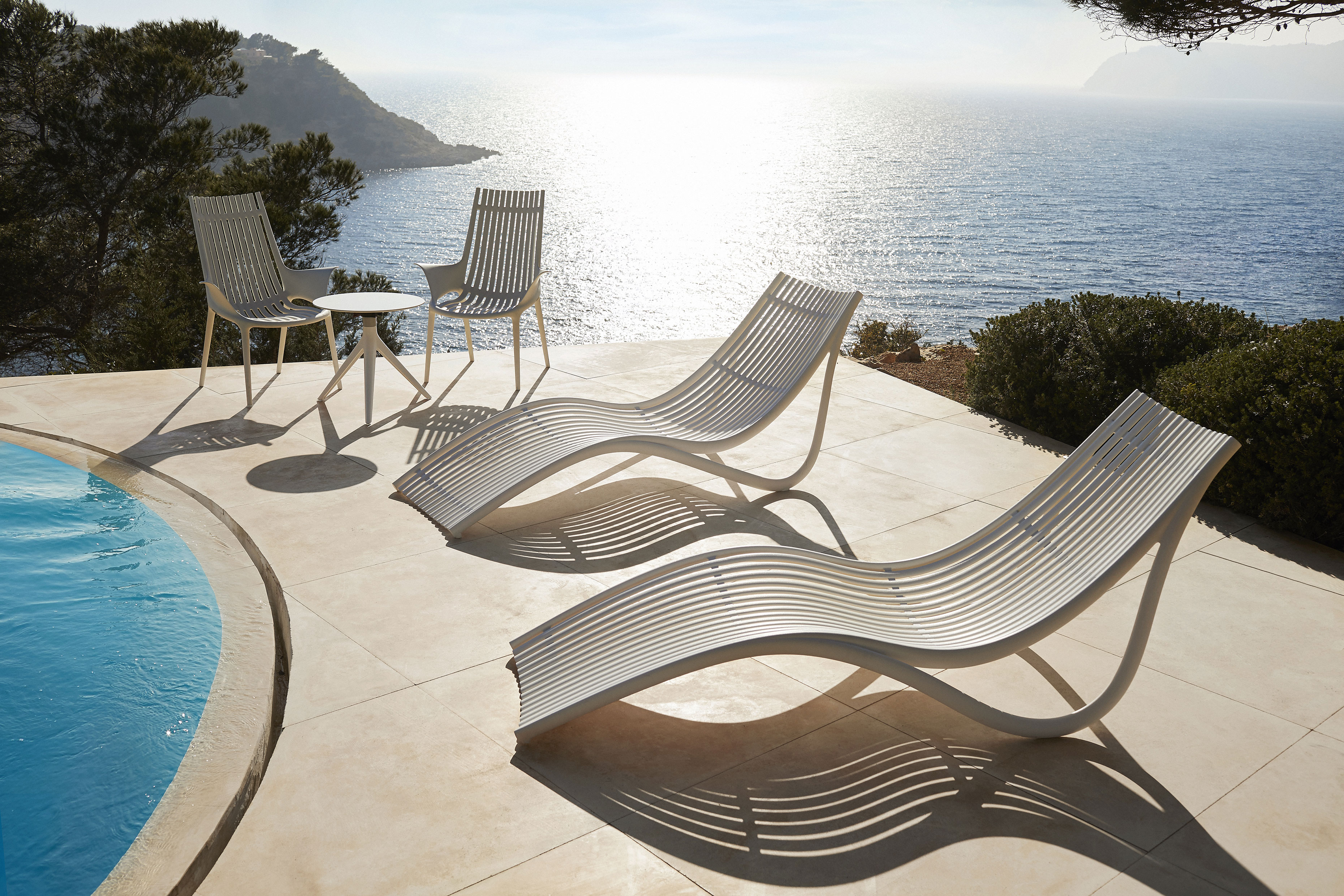 IBIZA collection designed by Eugeni Quitllet for Vondom. Photo: Courtesy of Vondom.