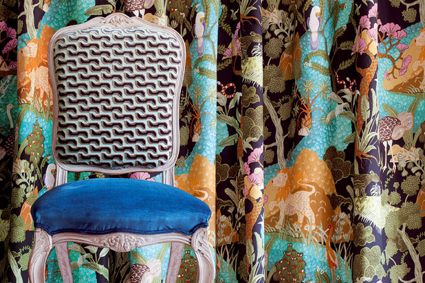 BEYUL fabric collection by Shauna Dennison for Pepe Peñalver