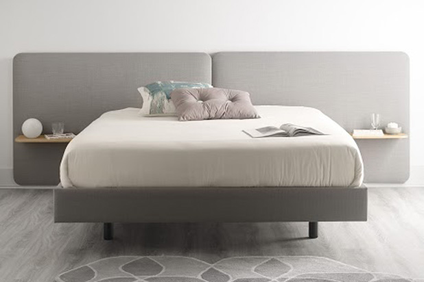 LOTA bed, designed by Ibon Arrizabalaga