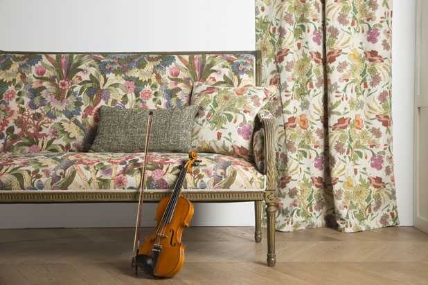 AMADEUS fabric collection by Güell Lamadrid