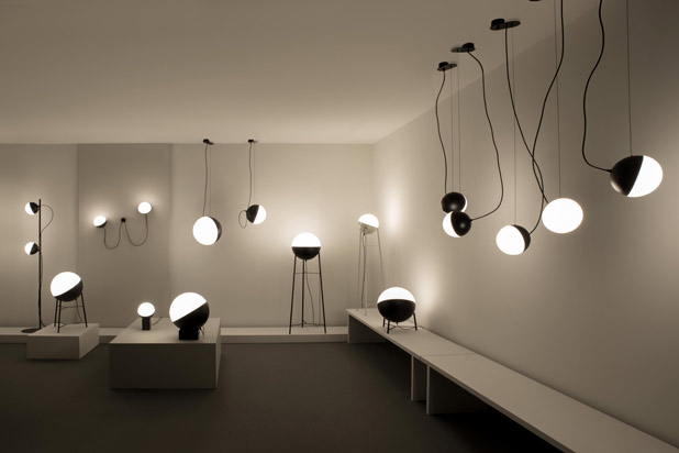 HALF lights collection designed by Francesc Rifé for Milán Iluminación