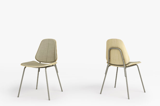 COLL chairs, designed by Francesc Rifé for Capdell