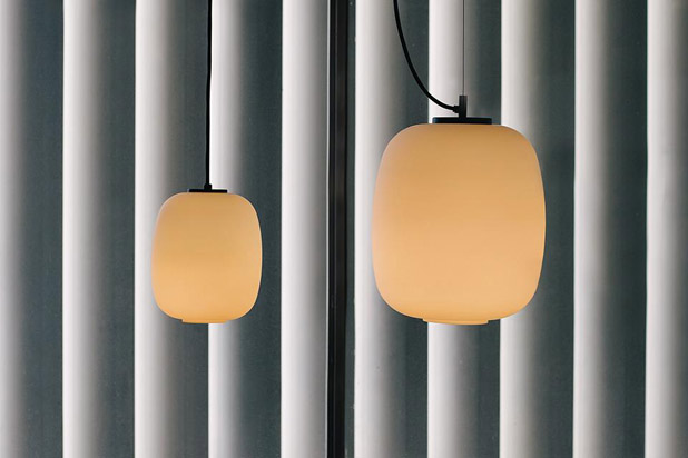 GLOBO CESTITA pendant lamps designed by Miguel Milà for Santa&Cole