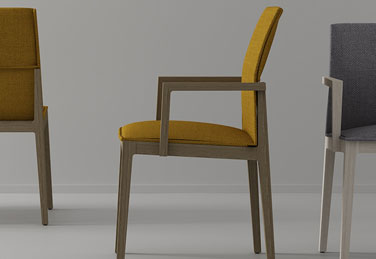 SHE chairs, designed by Carlos Tiscar