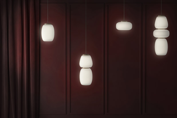 MISKO lights designed by Stone Designs for B.lux