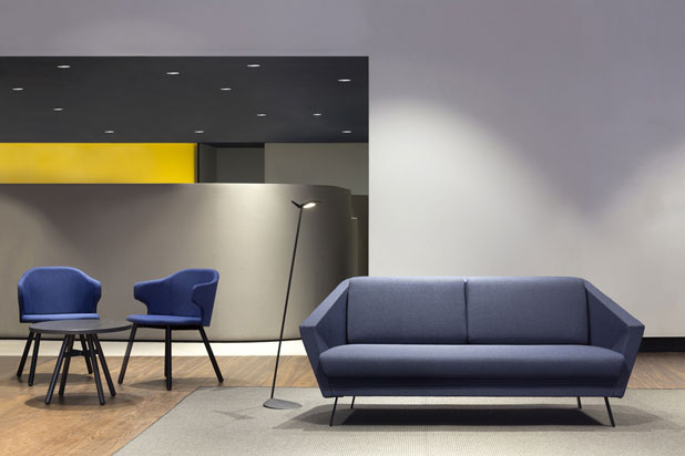 FAN sofa collection, designed by Francesc Rifé for Dynamobel