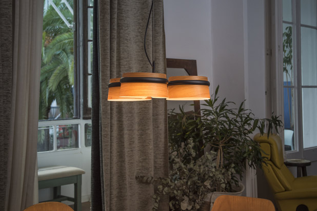 LOOP lamps collection designed by Estudi Ribaudí for Faro Barcelona