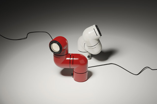 New version of the TATU lamp designed by Andre Ricard for Santa&Cole