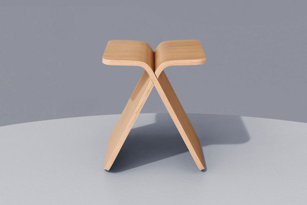 X Stool by Mut Design for Bolia. Photo:  Courtesy of Mut