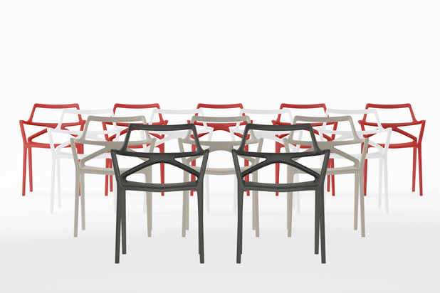 DELTA chairs, designed by Jorge Pensi for Vondom