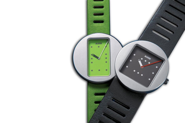 ONTIME watches, designed by Jorge Pensi for Alessi