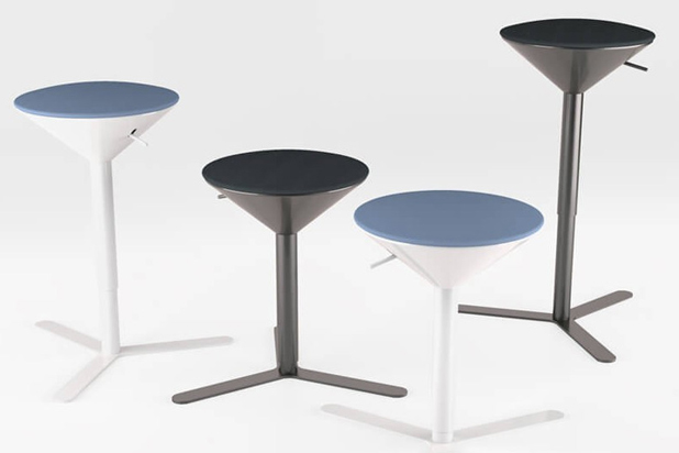 CONO stools, designed by Jorge Pensi for Estel