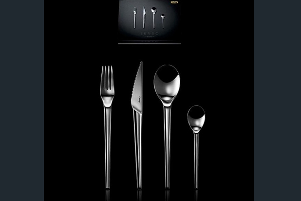 SENSO cutlery collection, designed by Jorge Pensi for Castey