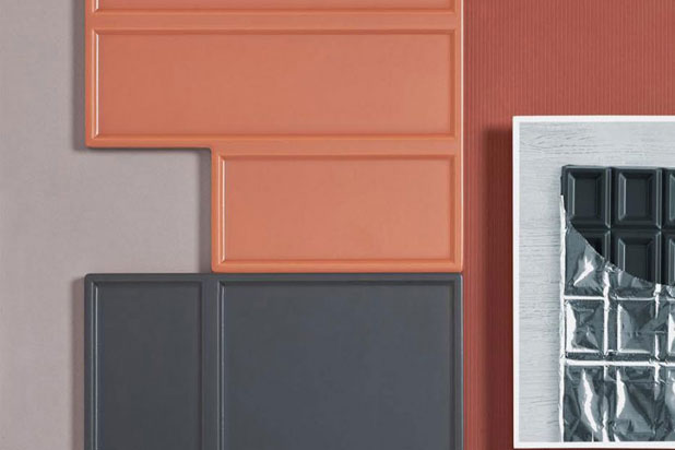 ONZA ceramic tiles by Mut Design for Harmony. Photo:  Courtesy of Mut