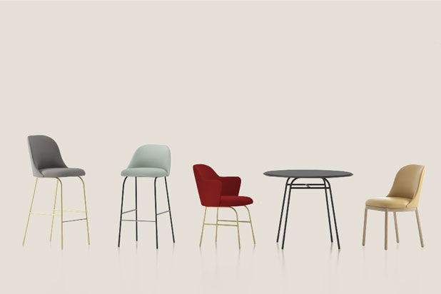 Aleta collection by Jaime Hayon for Viccarbe