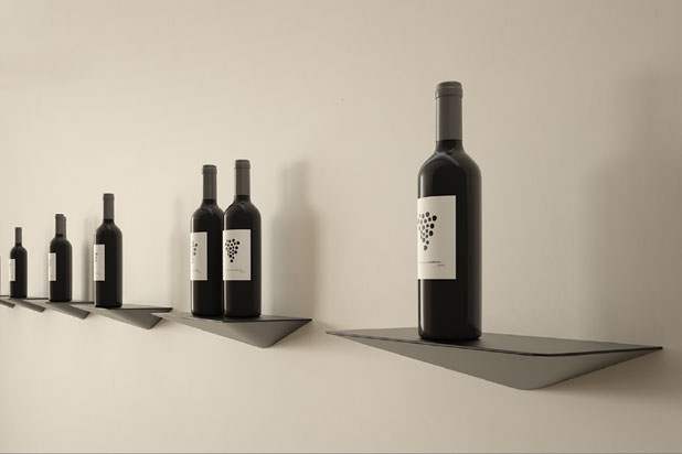 Keel shelves by Victor Carrasco for Viccarbe