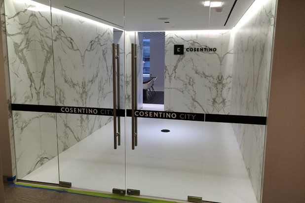 Cosentino group's showroom in New York