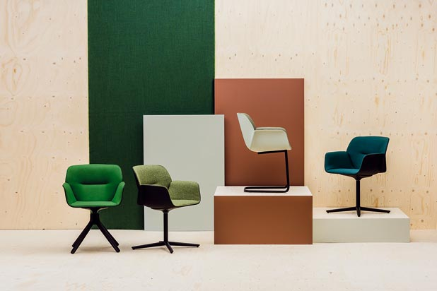 Nuez chair new version by Patricia Urquiola for Andreu World