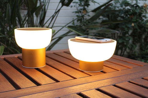 PATIO wireless lamps,designed by Oriol Llahona for AlmaLight