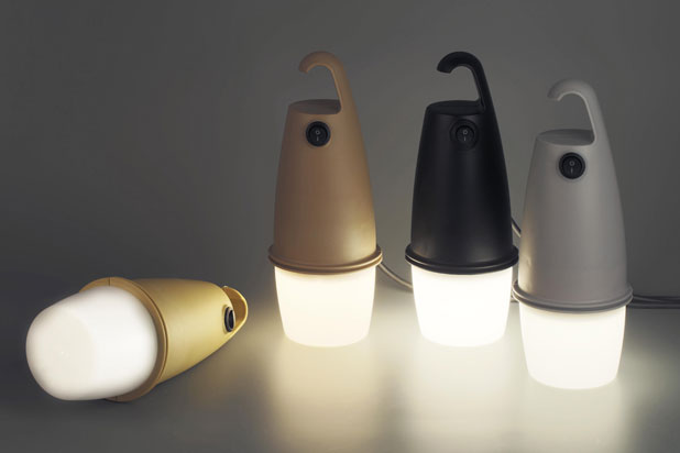 HOOK portable lamps, designed by Oiko for Faro Barcelona