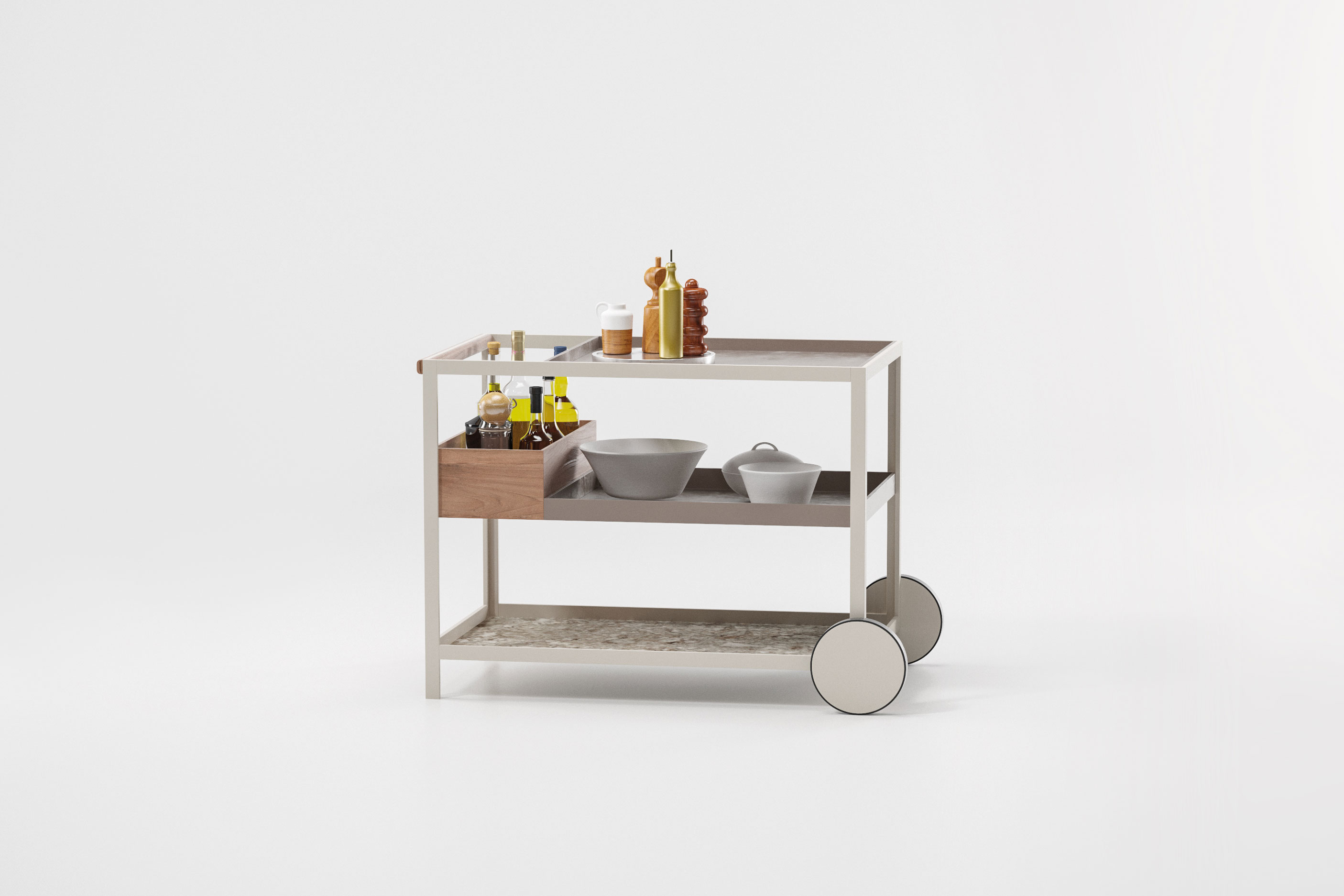 Kettal´s outdoor kitchen collection
