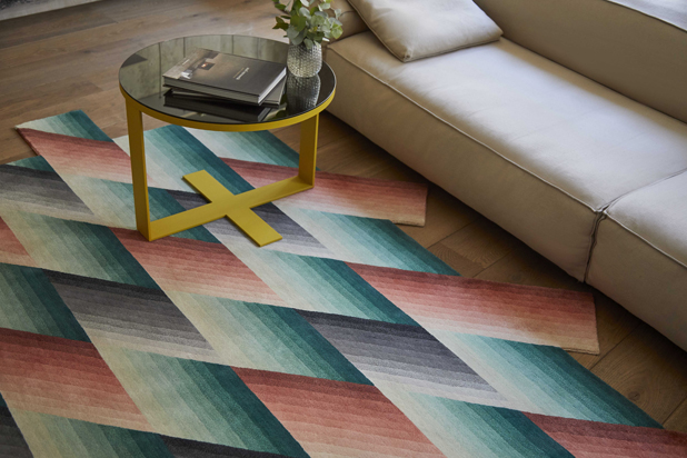 GAN MIRAGE rug collection by Patricia Urquiola for Gan