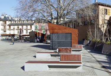 EQUAL benches, designed by Pepe Gascón