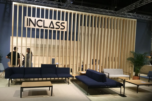 Lapse seating collection at Inclass stand